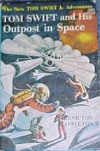 Tom Swift Jr. and his Outpost in Space #6 Dust Jacket - Product Image