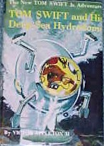 Tom Swift Jr. and his Deep-Sea Hydrodome #11 Dust Jacket - Product Image