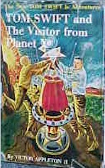 Tom Swift Jr. and the Visitor from Planet X #17 Dust Jacket - Product Image
