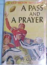 Chip Hilton: A Pass and A Prayer #7 Dust Jacket - Product Image