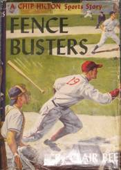 Chip Hilton: Fence Busters #11 Dust Jacket - Product Image