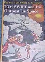 Tom Swift Jr. and his Outpost in Space #6 Picture Cover - Product Image
