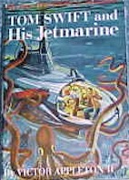 Tom Swift Jr. and his Jetmarine #2 Dust Jacket - Product Image