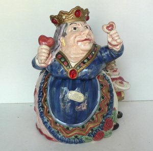 Queen of Hearts Cookie Jar - Product Image