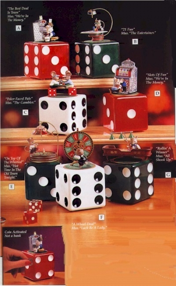 Casino Series Mini Action Musical - Product Image