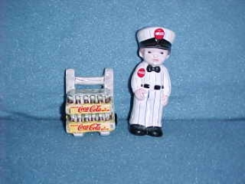 Coca-Cola  Delivery Man. Made by Enesco. - Product Image