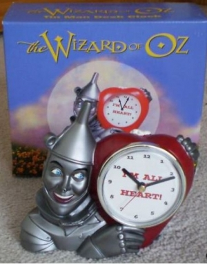 Wizard of Oz - Tin Man Desk Clock - Product Image