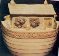 Metlox Noah's Ark Cookie Jar - Product Image