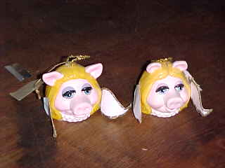 Miss Piggy Christmas Ornaments - Product Image