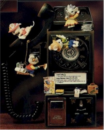 Party Line - Old Fashioned Pay Phone - Product Image