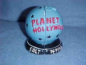Planet Hollywood Globe.  Made by Planet Hollywood. - Product Image