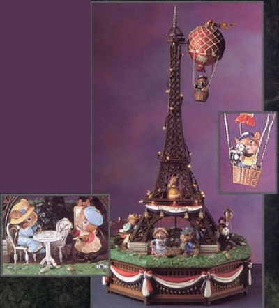 The Eiffel Tower - I Love Paris - Product Image